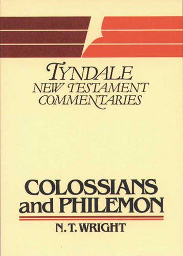 9780851118819: Colossians and Philemon (Tyndale New Testament Commentaries)