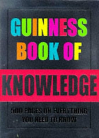 9780851120461: The Guinness Book of Knowledge