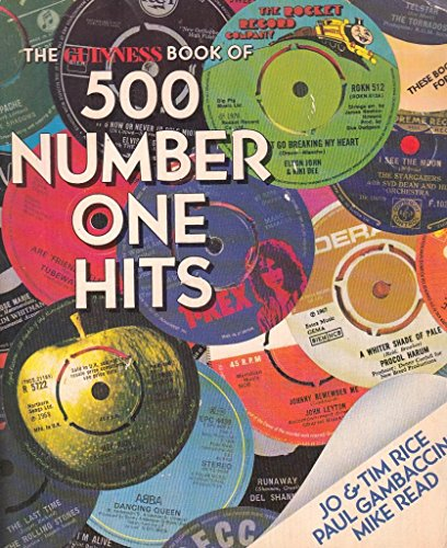 9780851122502: The Guinness Book of 500 Number One Hits
