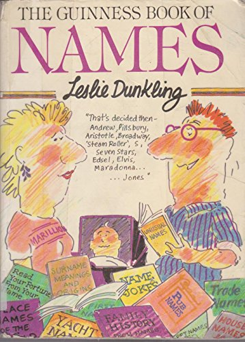 9780851123271: The Guinness Book of Names