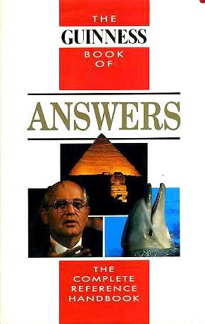 9780851123349: The Guinness Book of Answers