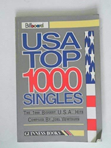 "9780851123387: ""Billboard"" Book of U.S.A. Top 1000 Singles"