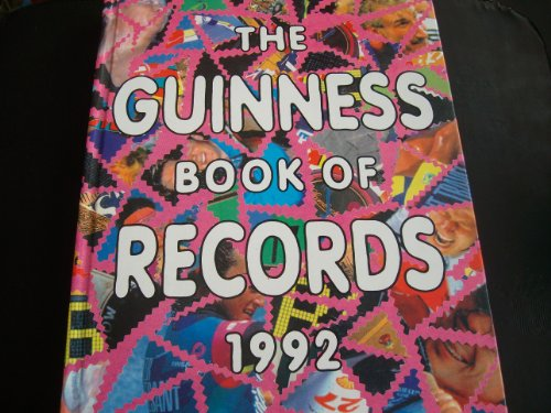 9780851123783: The Guinness Book of Records 1992