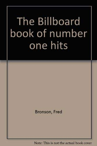 9780851124315: The Billboard book of number one hits