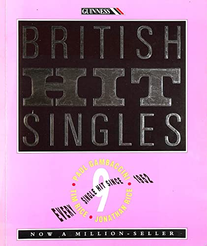 9780851125268: The Guinness Book of British Hit Singles