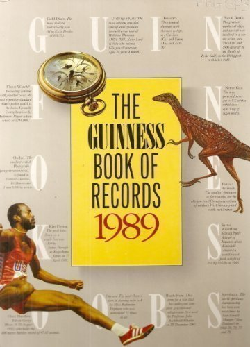 9780851128788: The Guinness Book of Records 1989