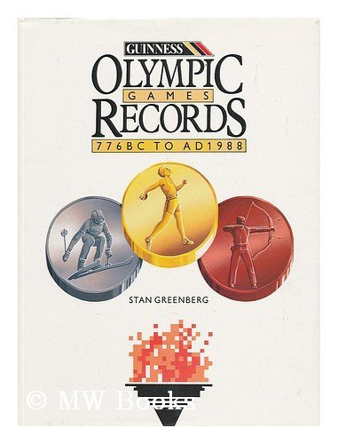 9780851128979: Olympic Games: The Records/776 Bc to Ad 1988
