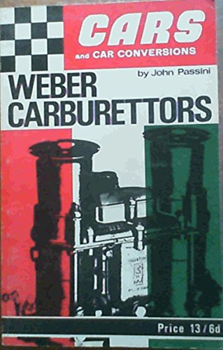 9780851130187: Weber Carburettors: Theory v. 1