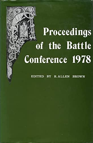 9780851151076: Anglo-Norman Studies I: Proceedings of the Battle Conference 1978