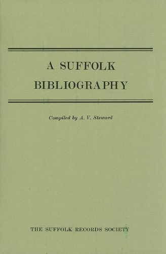 9780851151151: A Suffolk Bibliography (Suffolk Records Society)