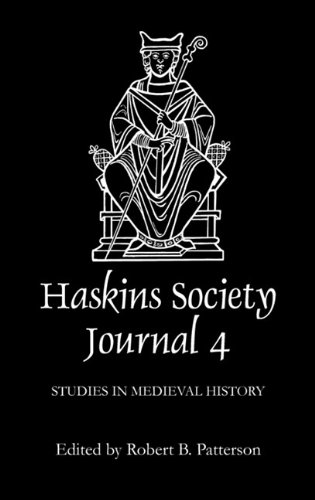 9780851153339: The Haskins Society Journal 4: 1992. Studies in Medieval History: Vol 4