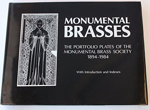 Monumental Brasses. The Portfolio Plates of the: NORRIS, M.W. (Intro.)
