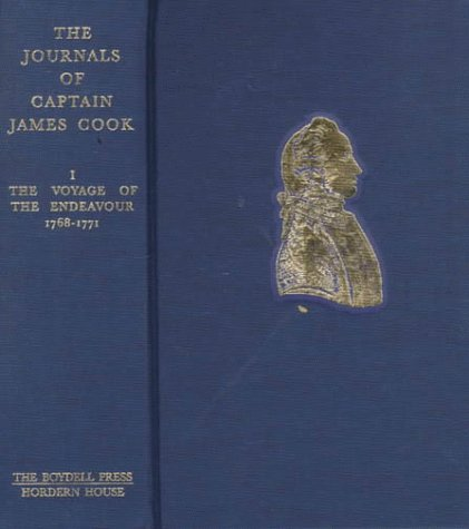 9780851157443: The Journals of Captain James Cook on his Voyages of Discovery: Edited from the Original Manuscripts: Four Volumes and a Portfolio