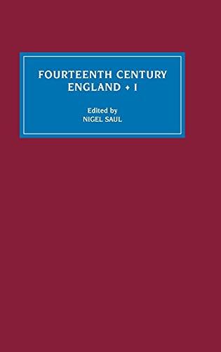 9780851157764: 1: Fourteenth Century England I