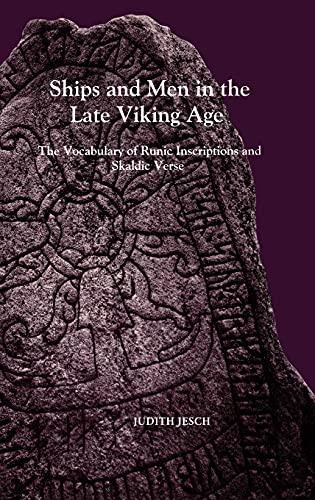 9780851158266: Ships and Men in the Late Viking Age: The Vocabulary of Runic Inscriptions and Skaldic Verse