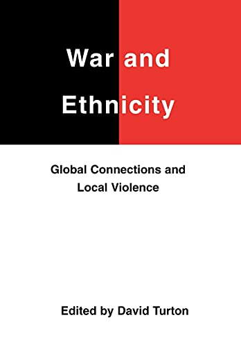 War and Ethnicity (Studies on the Nature: BOYE6