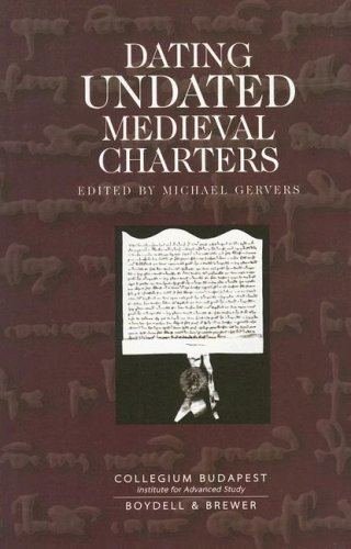 9780851159249: Dating Undated Medieval Charters
