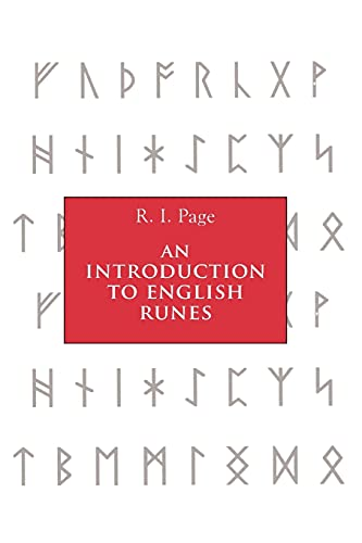 9780851159461: An Introduction to English Runes