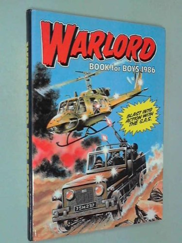 9780851163338: Warlord Book for Boys 1986 (Annual)