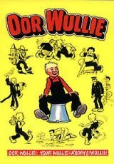 Oor Wullie : Cover Picture : Wullie Sitting on a Bucket