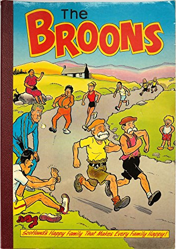 The Broons : Cover Picture Marathon Running