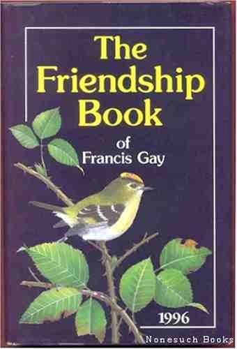 9780851166087: The Friendship Book of Francis Gay: 1996