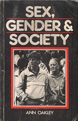 9780851170206: Sex, Gender and Society (Towards a New Society)