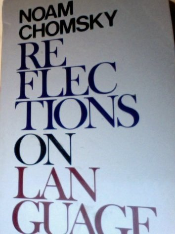 9780851171050: Reflections on Language