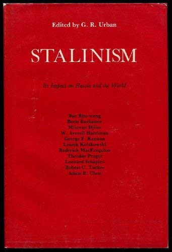 9780851172231: Stalinism: Its Impact on Russia and the World