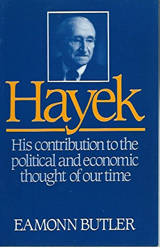 9780851172347: Hayek: A Study of His Life and Work