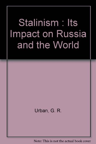 9780851172521: Stalinism : Its Impact on Russia and the World
