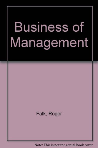 9780851180632: Business of Management
