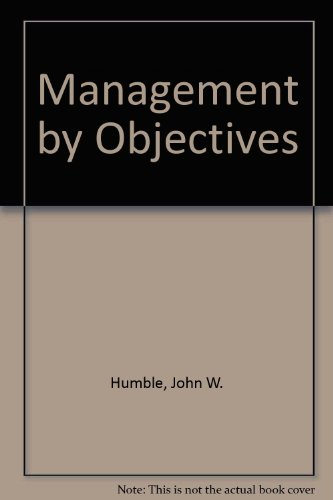 9780851180885: Management by Objectives