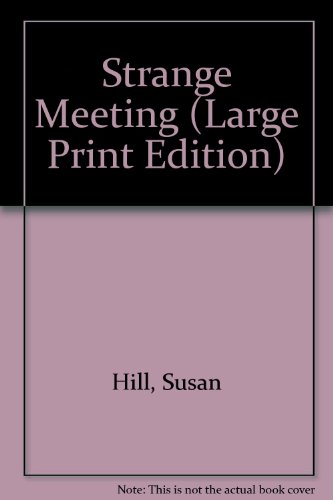 9780851193618: Strange Meeting (Large Print Edition)