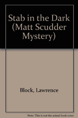 9780851196336: Stab in the Dark (Matt Scudder Mystery)