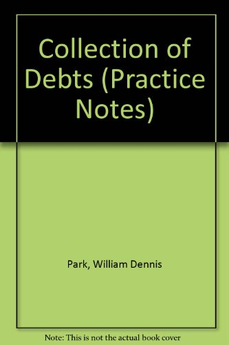 9780851201290: Collection of Debts (Practice Notes)