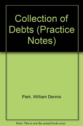 9780851205816: Collection of Debts (Practice Notes)