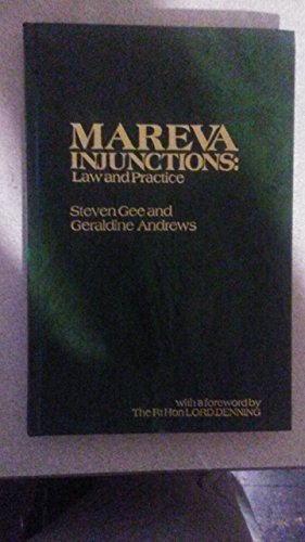 9780851209395: Mareva Injunctions: Law and Practice