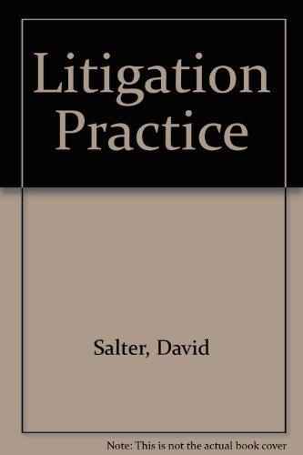 9780851210834: The Litigation Practice
