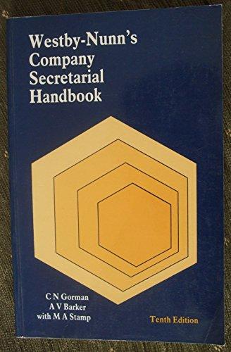 9780851214337: Westby-Nunn's Company Secretarial Handbook