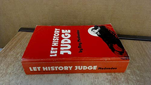 9780851241500: LET HISTORY JUDGE