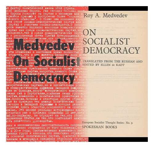On Socialist Democracy (European socialist thought): Roy Medvedev