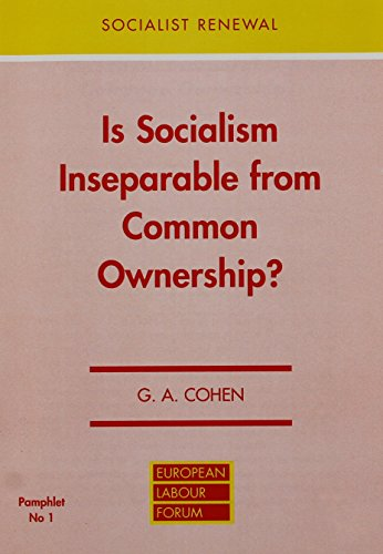 9780851245843: Is Socialism Inseparable from Common Ownership?
