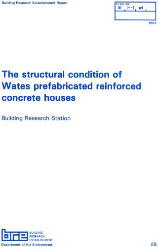 9780851250618: The Structural Condition of Wates Prefabricated Reinforced Concrete Houses