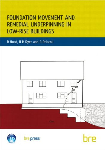 9780851254593: Foundation Movement and Remedial Underpinning in Low-Rise Buildings: (BR 184)