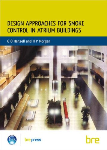 9780851256153: Design Approaches for Smoke Control in Atrium Buildings: (BR 258) (Building Research Establishment Report S)
