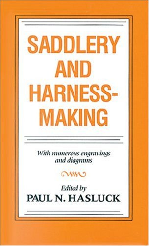 9780851311487: Saddlery and Harness-Making