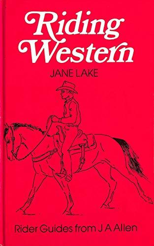 9780851314327: Riding Western (Allen rider guides)