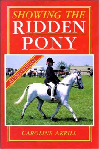 9780851316499: Showing the Ridden Pony