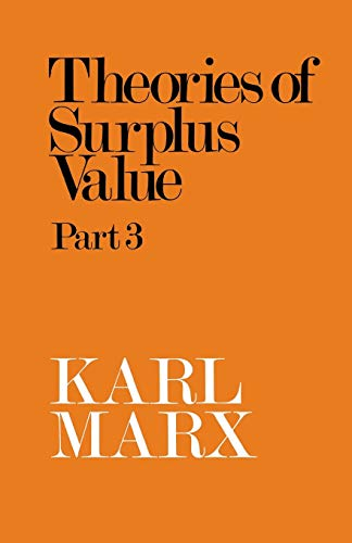 9780851352527: Theories of Surplus Value Part 3